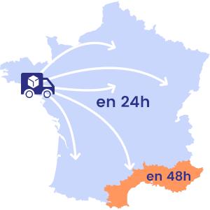 Livraison de vos surgelés en France hexagonale
