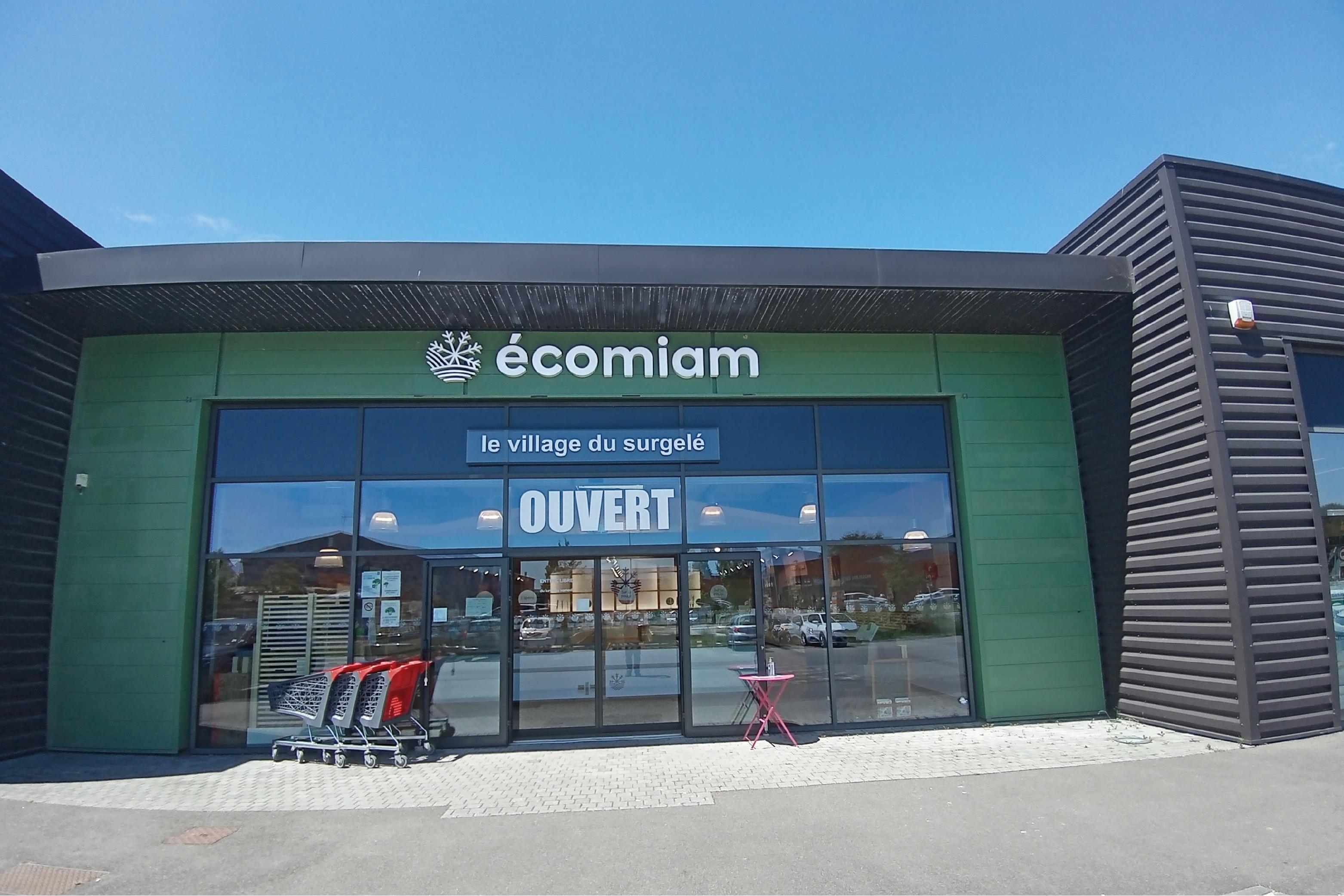 écomiam Guérande | magasin de produits surgelés