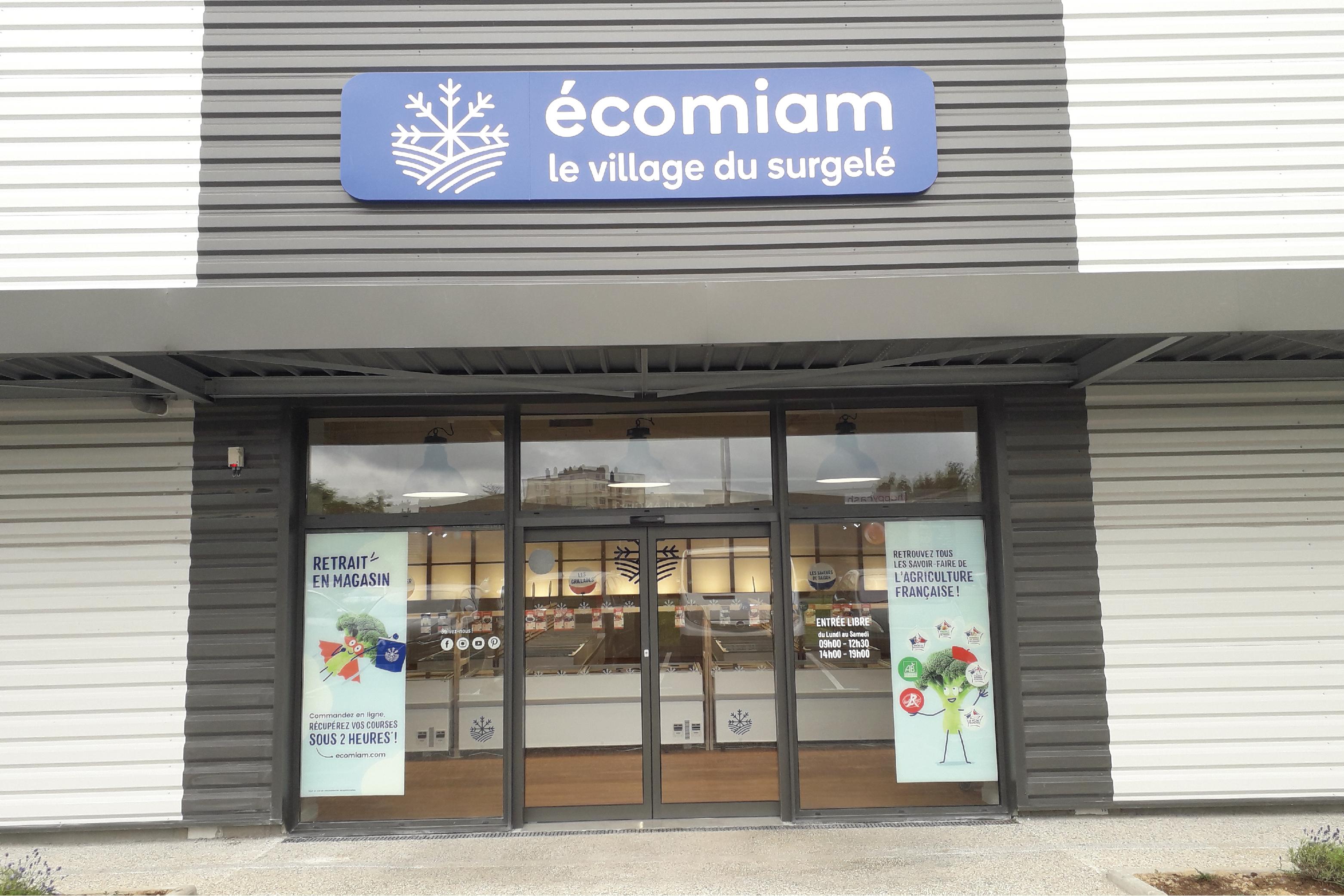 écomiam Vire   magasin de produits surgelés