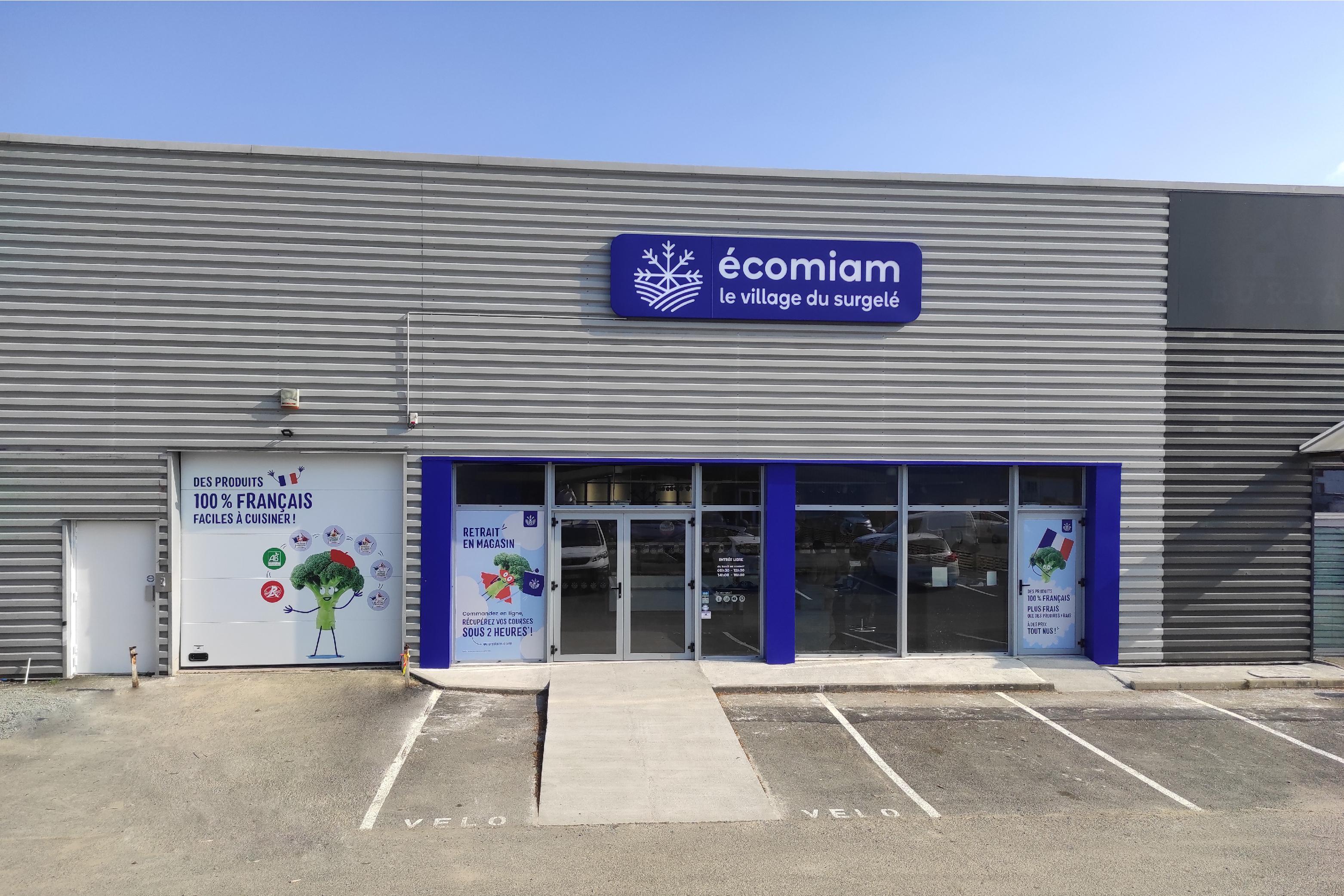 écomiam Cholet | magasin de produits surgelés